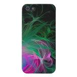 Caso de neón orgánico de Iphone iPhone 5 Carcasas