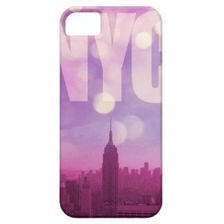 Caso de New York City Iphone en púrpura iPhone 5 Case-Mate Cobertura