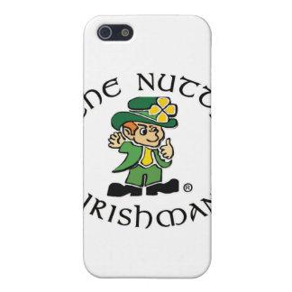 Caso de nuez del iPhone 3 del irlandés iPhone 5 Cárcasa