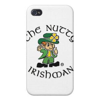 Caso de nuez del iPhone 3 del irlandés iPhone 4 Cobertura