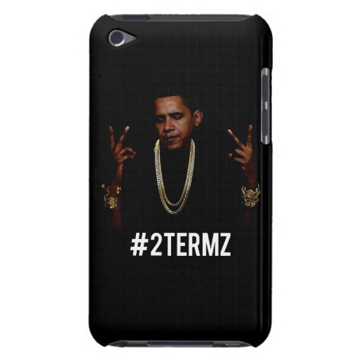 Caso de Obama 2Termz iPod iPod Case-Mate Protectores