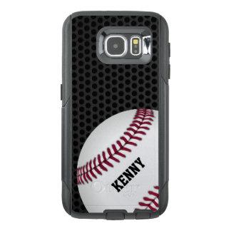Caso de Otterbox Samsung S6 del béisbol Funda OtterBox Para Samsung Galaxy S6