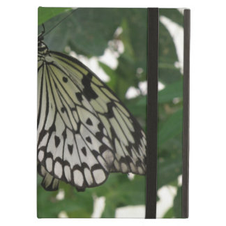 Caso de papel tropical del iPad de la mariposa de
