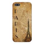 Caso de París del iPhone viejo 5 del mapa y de la  iPhone 5 Cobertura