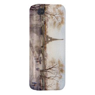 caso de París Francia iphone4/4s iPhone 4/4S Carcasas