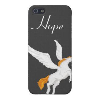 Caso de Pegaso iphone4 iPhone 5 Fundas