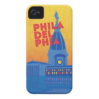 Caso de Philadelphia iPhone4/4s de la serie del vi Case-Mate iPhone 4 Cárcasa