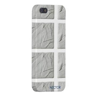 Caso de piedra 5 y 5s del iPhone de la basura iPhone 5 Coberturas