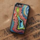 """""""Caso de piedra del iPhone 6 del arco iris """" Funda De iPhone 6 Tough Xtreme"""