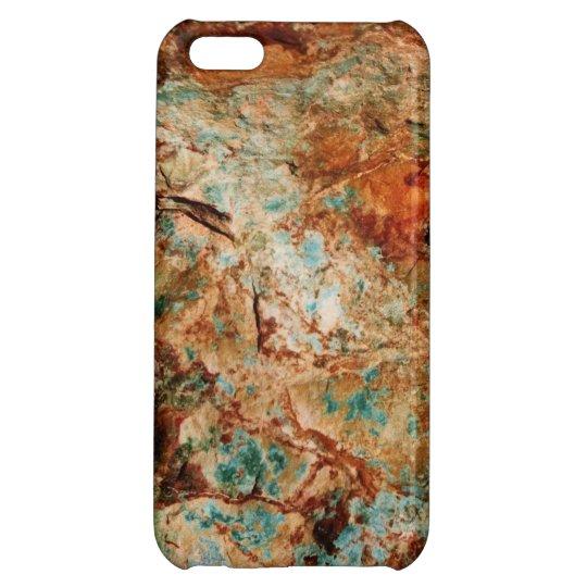 Caso de piedra natural del iPhone 5c