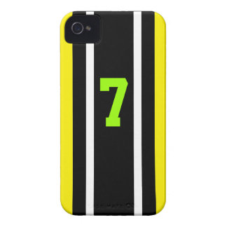 Caso de Pittsburgh 7 iPhone 4 Case-Mate Protectores