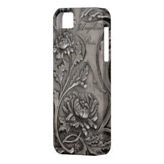 caso de plata antiguo del iphone 5 iPhone 5 carcasa