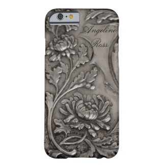 caso de plata antiguo del iPhone 6 Funda Para iPhone 6 Barely There