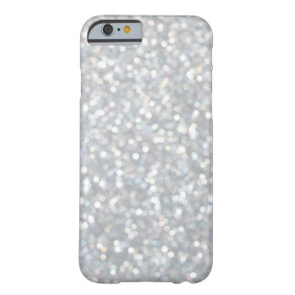 Caso de plata brillante del iPhone 6 Funda Para iPhone 6 Barely There