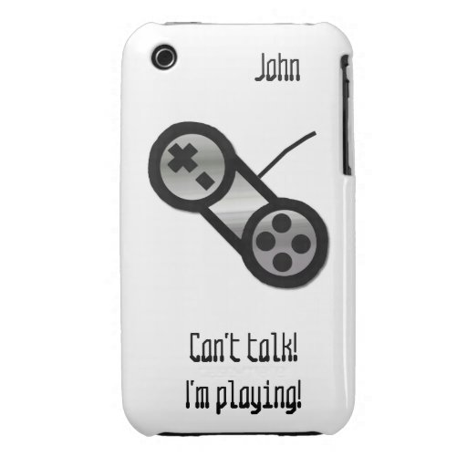 Caso de plata del iPhone 3 del regulador del iPhone 3 Cárcasa
