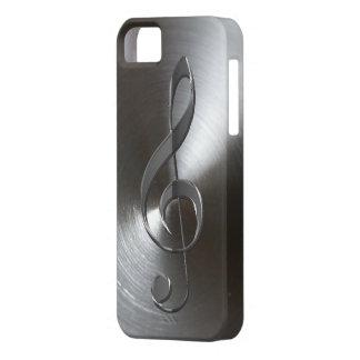 Caso de plata del iPhone 5 del Clef agudo del iPhone 5 Case-Mate Protector