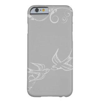 Caso de plata del iPhone 6 del trago Funda Barely There iPhone 6