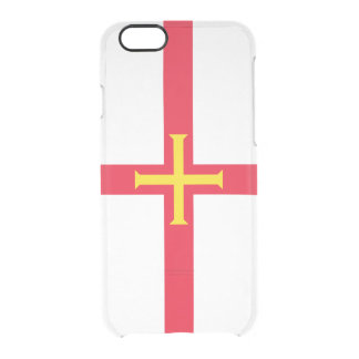 Caso de plata del iPhone de Guernesey Funda Clear Para iPhone 6/6S