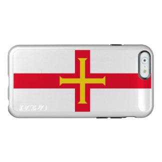 Caso de plata del iPhone de Guernesey Funda Para iPhone 6 Plus Incipio Feather Shine