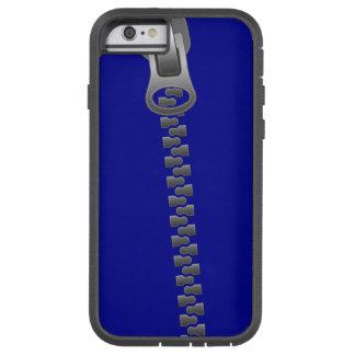 Caso de plata del iPhone de la cubierta de la Funda Tough Xtreme iPhone 6
