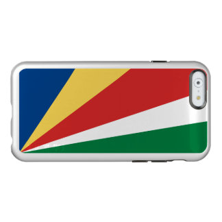 Caso de plata del iPhone de Seychelles Funda Para iPhone 6 Plus Incipio Feather Shine