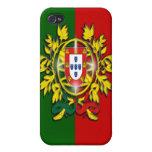 Caso de Portugal Iphone 4/4S iPhone 4/4S Fundas