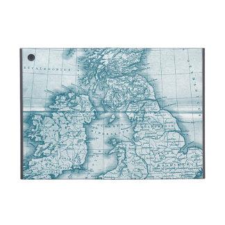 Caso de Powis del iPad del mapa de la antigüedad d iPad Mini Protectores