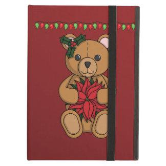 Caso de Powis del iPad del regalo del peluche