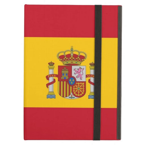 Caso de Powis Ipad con la bandera de España
