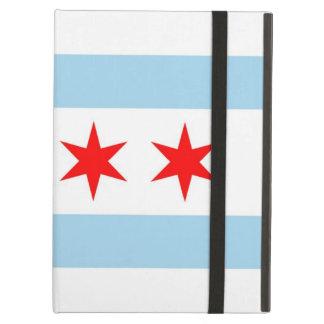 Caso de Powis Ipad con la bandera de la ciudad de