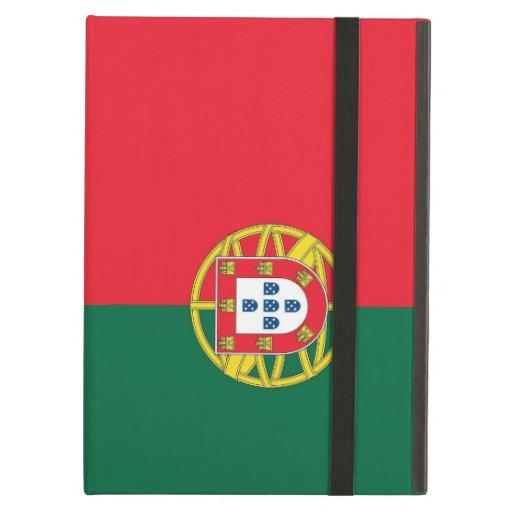 Caso de Powis Ipad con la bandera de Portugal