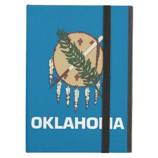 Caso de Powis Ipad con la bandera del estado de Ok