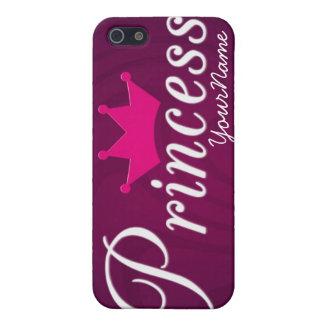 Caso de princesa Iphone 4 iPhone 5 Funda