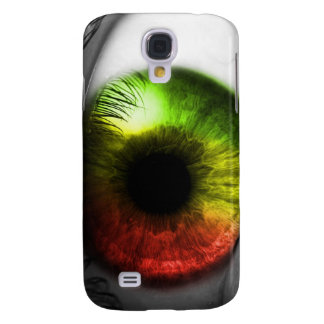 Caso de Rasta Iphone 3 del ojo del reggae Carcasa Para Galaxy S4