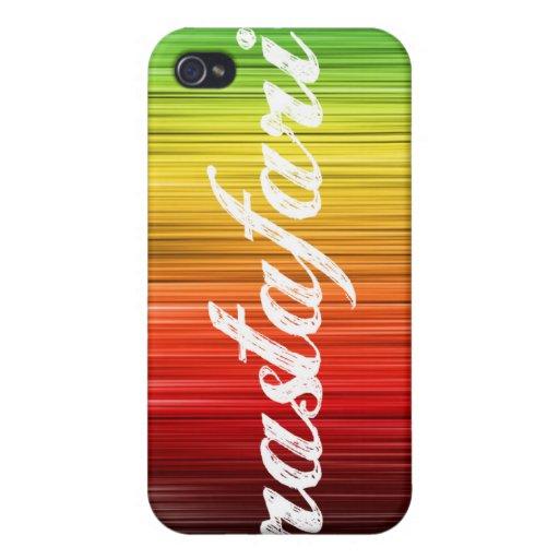 Caso de Rastafari Iphone 4 iPhone 4 Fundas
