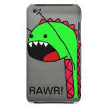 Caso de Rawr Dino IPod Barely There iPod Cárcasa