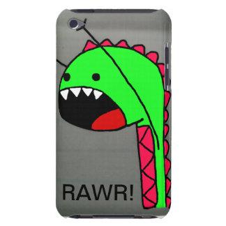 Caso de Rawr Dino IPod Barely There iPod Coberturas