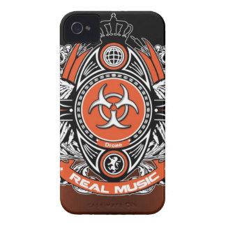caso de RealMusic del abejón del iPhone 4 Case-Mate iPhone 4 Cárcasas