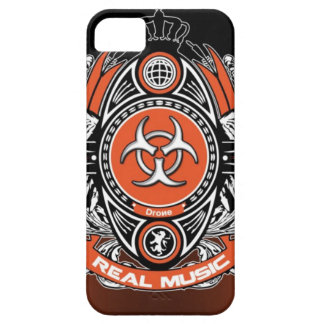 caso de RealMusic del abejón del iPhone 5 Funda Para iPhone SE/5/5s