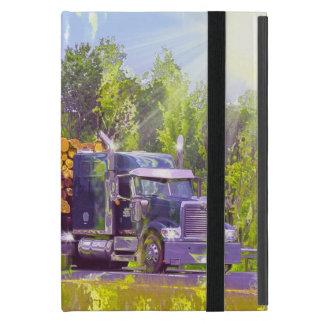 Caso de registración del iPad del camión del iPad Mini Cárcasa