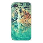 Caso de relajación del iPhone 4/4s del tigre iPhone 4 Carcasa
