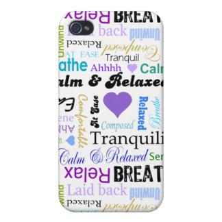 Caso de relajación tranquilo antiesfuerzo del ipho iPhone 4/4S carcasa
