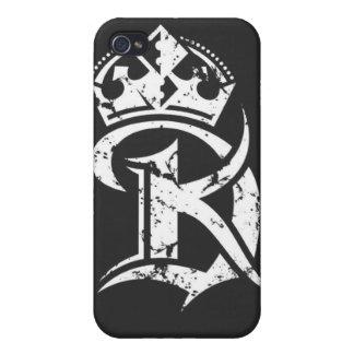 Caso de rey Duce Hard Shell para el iPhone 4 4S iPhone 4 Cárcasa