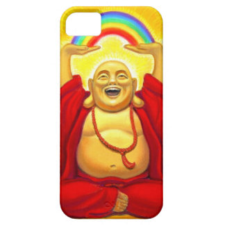 Caso de risa afortunado del iPhone 5 de Buda del a iPhone 5 Case-Mate Cárcasas