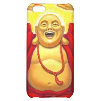 Caso de risa del iPhone 4 de Buda del arco iris