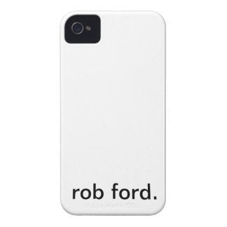 Caso de Rob Ford Iphone 4 iPhone 4 Funda