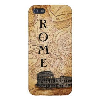 Caso de Roma del iPhone viejo 5 del mapa y de Colo iPhone 5 Carcasa