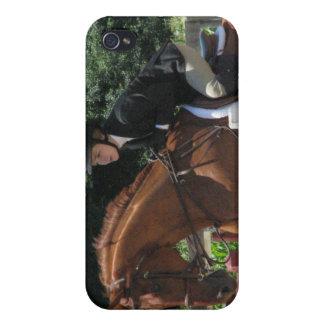 Caso de salto del iPhone 4 del caballo iPhone 4 Funda
