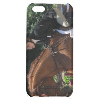Caso de salto del iPhone 4 del caballo