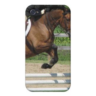 Caso de salto del iPhone 4 del caballo iPhone 4 Carcasas